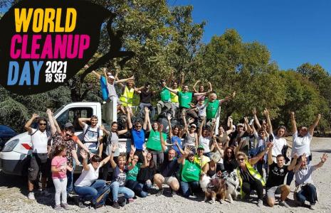 World Clean Up Day Marseille 2021